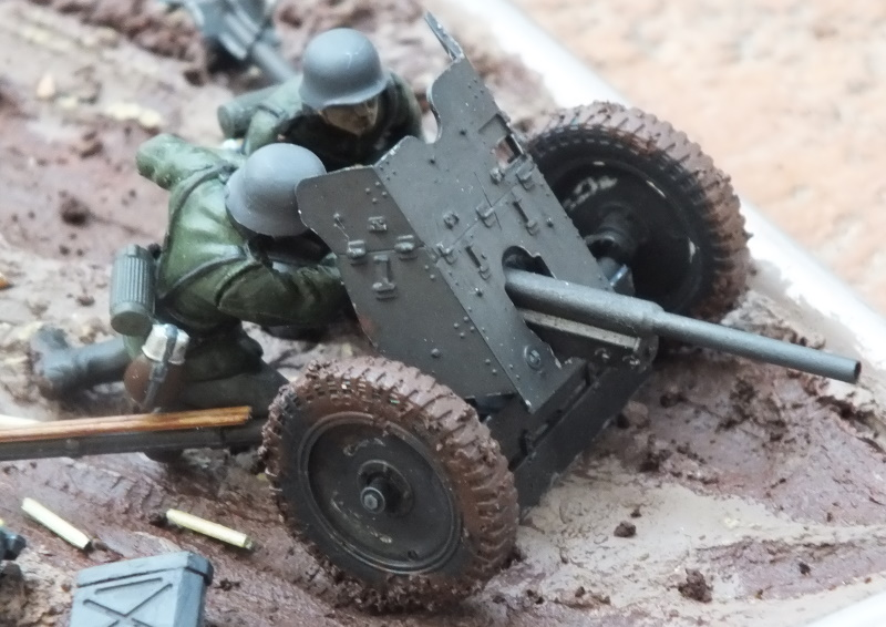 Tamiya 1/35 3.7cm Antitank Gun PaK 35/36 (35035) Build Review