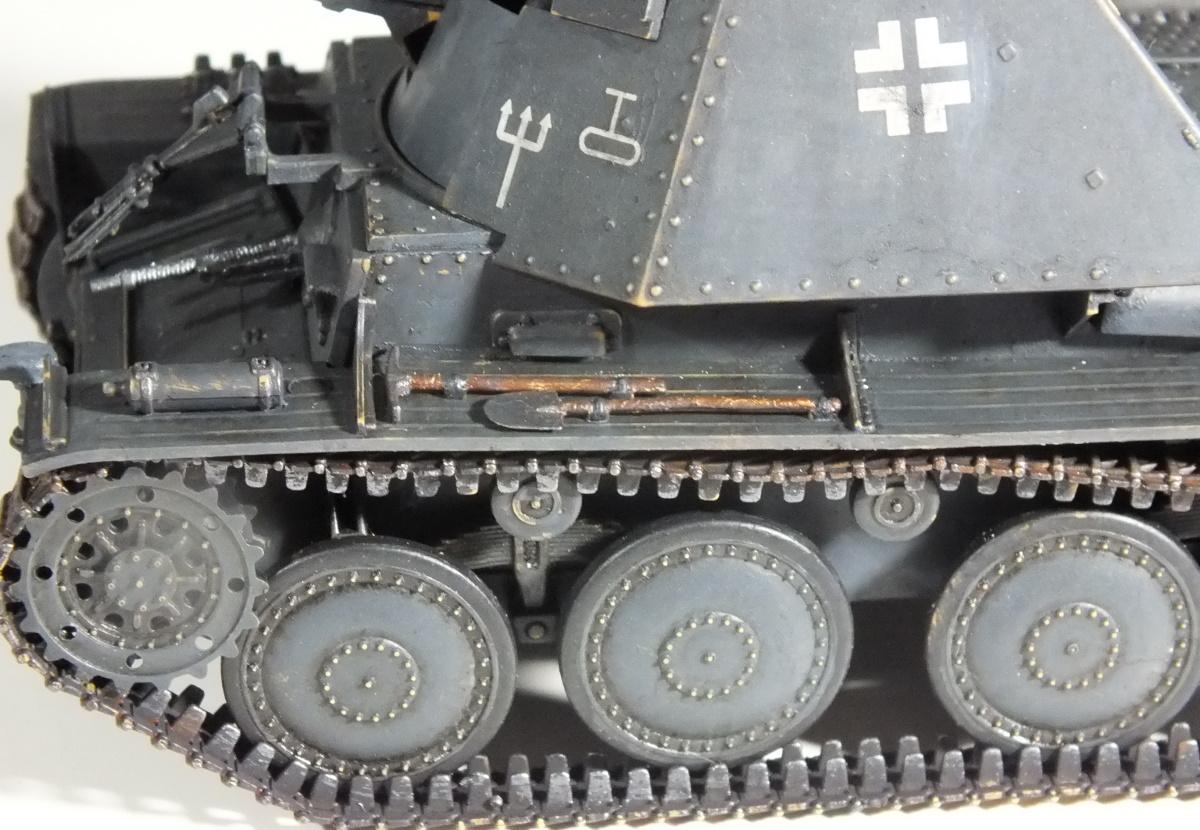 Italeri 1/35 SdKfz 139 Panzerjäger Marder III (6210) Build Review