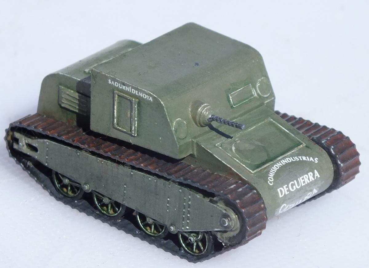 Minairons Miniatures 1/72 IGC Sandurni Tank (20GEV001) Build Review