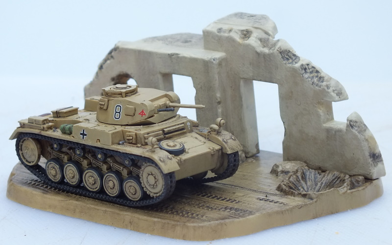 Revell (Matchbox) 1/76 PzKpfw II Ausf. F (03229) Build Review