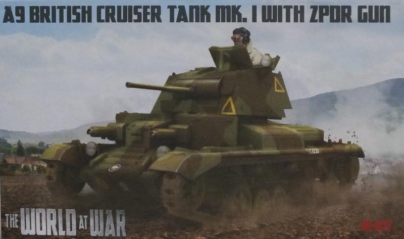 IBG Models 1/72 A9 British Cruiser Tank Mk.I with 2 pdr Gun (WAW011) In-Box Review