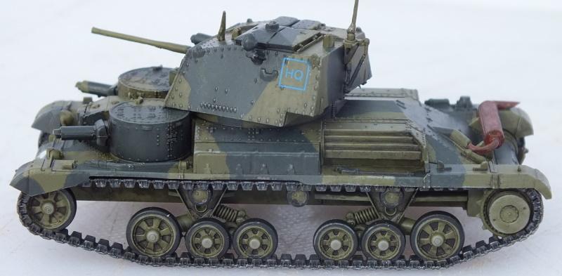 IBG Models 1/72 A9 British Cruiser Tank Mk.I with 2 pdr Gun (WAW011) Build Review