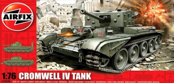 Airfix 1/76 Cromwell IV Tank (A02338) In-Box Review and History