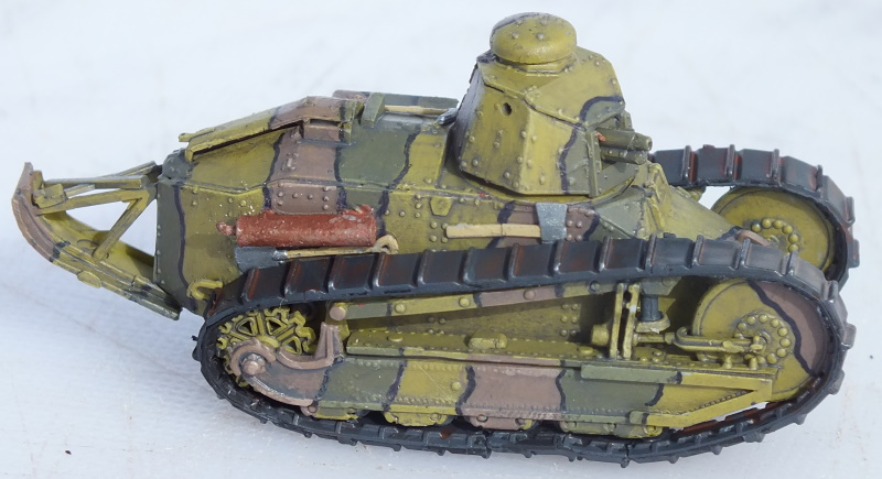 RPM 1/72 Renault FT Char Cannon with Berliet Turret (72204) Build Review