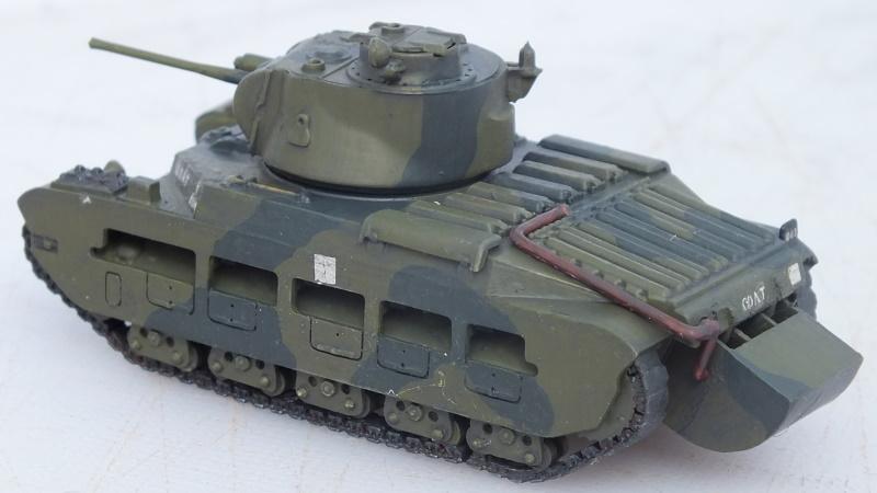 Airfix Matilda Hedgehog (AO2335V) conversion to A12 Matilda II Mk I. Part 2: Hull, Turret and Painting